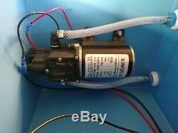 100psi Singflo FL-3203 Pump box. Water fed pole. Window cleaning. Wfp