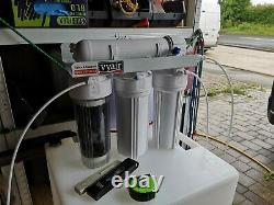 150 Liter Water Tank & Ro system pure water set up Window cleaning