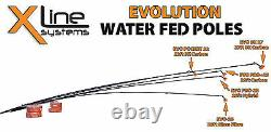 18 Foot Carbon Nano Water Fed Cleaning Pole Super High Modulus Carbon WFP
