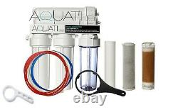 200GPD 4 Stage Reverse Osmosis & DI Water Filter System Window Cleaning Aquarium