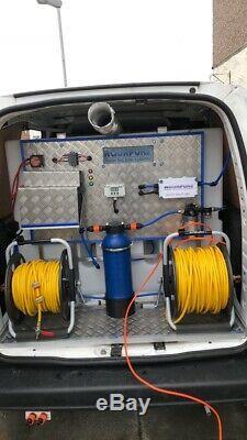 2013 Peugot Partner Hot Water WFP system Window Cleaning Van