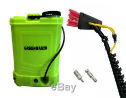 20 L Window Cleaning Backpack And 25 Ft Impressor Gs Water Fed Pole