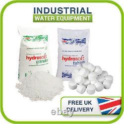 25KG Bags of Salt Water Softener Water Softening Hydrosoft Dishwasher