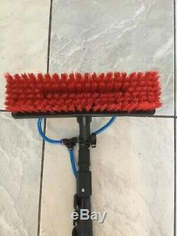 25ft Window Cleaning Pole Water Fed Extendable Telescopic Brush Conservatory