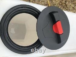 2 X 350L Litre Upright Plastic Water Storage Tank Window Cleaning