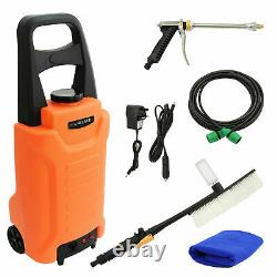 30L Telescopic Water Fed Cleaning Pole Window Cleaning Trolley Tank Pump System
