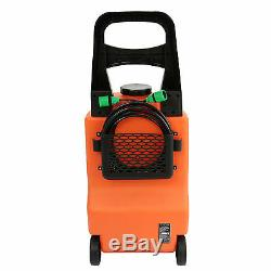 30L Water Fed Trolley System Window Cleaning Car Washing Brush Cleaner Equipment