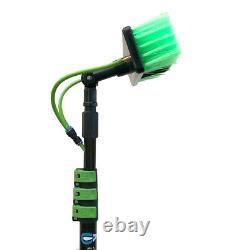 30ft Telescopic Water Fed Pole Lightweight Window Cleaning Water Spray hozelock