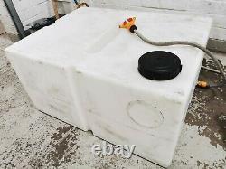 350l water tank, h 53cm/L 100cm/w 75 cm