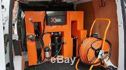 350ltr 1 Man D/I Water Fed Pole Window Cleaning System Brand New X-Tank