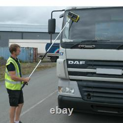 3M (9Ft) EXTENDING TELESCOPIC WATER FED CAR BUS HOME WINDOW WASH BRUSH CLEANER