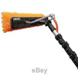 45 Foot Xline High Modulus Carbon Fibre Water Fed Pole + Free Evo-Lite WPF Brush