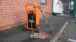 45 Litre Window Cleaning Trolley + 20ft Water Fed Pole + Lightweight 10 Brush