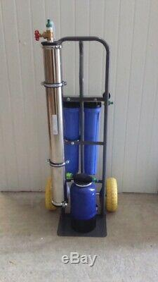 4 stage 4040 commercial reverse osmosis system di window cleaning pure water r/o