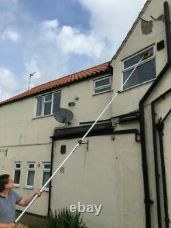 5M Window Cleaning Pole Brush, Window Cleaner Equipment, Water Hose/Fed