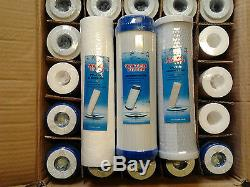 6 Sets Window Cleaning /water Fed Pole Reverse Osmosis Pre Filters