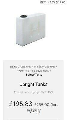 Baffled water tank 400 litre