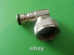 Brass Swivel Hozelock Garden hose reel connector 3/4 microbore water fed pole