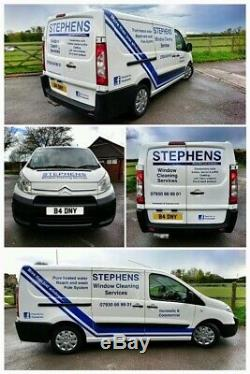 Citroen Dispatch LWB Window Cleaning Van and Water Fed Pole Heated System