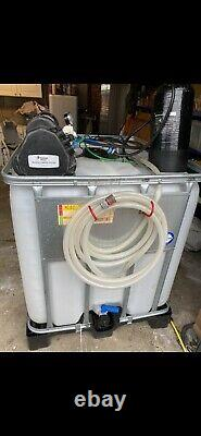 Complete 2 man water fed pole system