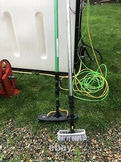 Complete water fed pole window cleaning system