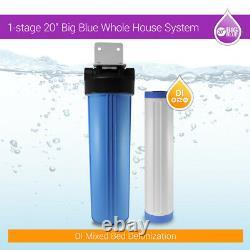 DI Mixed Bed Water Filter 20 x 4.5 Big Blue Car wash Window Cleaning Aquarium