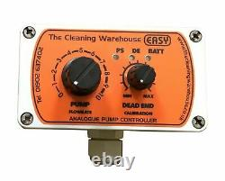 Easy Analogue pump/flow controller window cleaning Water Fed Pole