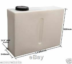 Ecosure 280 Ltr Litre V1 Upright Baffled Car Valeting Window Cleaning Water Tank