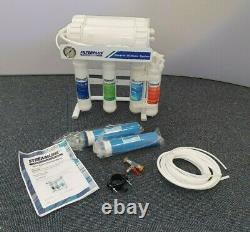 Filterplus 600GPD Reverse Osmosis Water Filter Kit & DI Filter, window cleaning