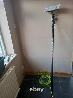 Gardiner Pole brush slx univalve hose stop cap water fed pole window cleaning