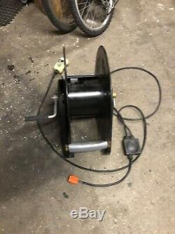 Hose Reel Electric Powered for water fed pole window cleaning