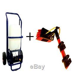 Impressor 25l W F P Trolley & 20 Ft Water Fed Pole Set