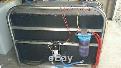 Ionic Window cleaning system water tank ro. Water fed pole van set up 400 ltr