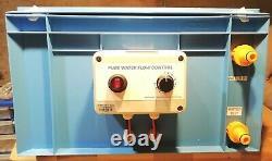 NEW100 PSI Pump Box, Shurflo Pump + Strainer, TC Control, Water Fed Pole