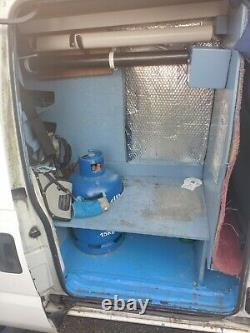 Peugeot expert van water fed window cleaning/car valeting start up opportunity