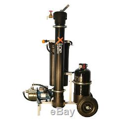 Portable 2000GPD Reverse Osmosis Water Filter 4-Stage R/O-D/I + Booster Pump
