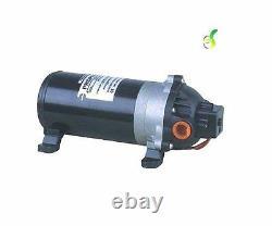 Propump 100psi diaphragm pump, water fed pole. 4.5lpm, 12volt. 9 amp draw