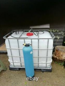 Pure water window cleaning system