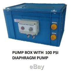 Reconditioned 100psi Pump box. Water fed pole. Window cleaning. Wfp