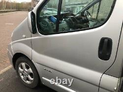 Renault trafic sport water fed pole window cleaning van