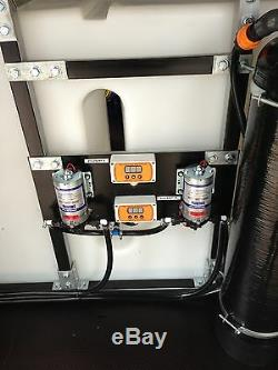 SALE 500L FRAMED BUDGET DI PURE WATER SYSTEM Kit 2 user window cleaning
