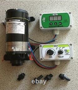 Spring V11 digital flow controller split charging relay plus pump water fed pole