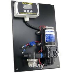 Streamboard 100psi Streamflo Pump and Controller Water Fed Poles Window Cleaning