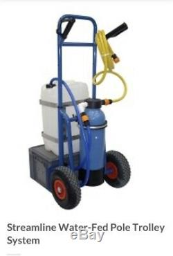 Streamline Water-Fed Pole Trolley System 25l Complete With RO System And Resin