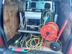 Suzuki Carry Van Fitted Out for Water Fed Pole Window Cleaning