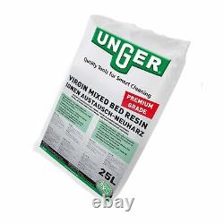 Unger Premium grade virgin mixed bed resin Pure Water Window Cleaning Waterfed