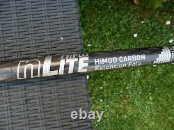 Unger nlite HIFLOW himod carbon extension pole 3.41m lenght water fed pole