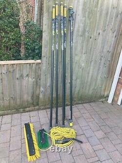 Unger nlite carbon connect water fed pole