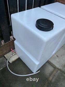 Upright 350L Water Tank Perfect for Valeting, Camping, Window Cleaning Etc