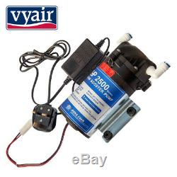 VYAIR 100GPD Pumped 4-Stage Reverse Osmosis Fish & Aquarium Water Filter System